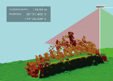 3d mapping in real time, accurate water column profile and seafloor bathymetry