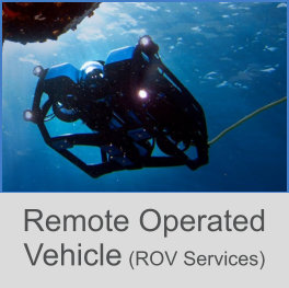 Remote Operated Vehicle - ROV Services